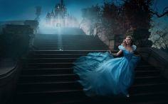 """Cinderella"" - Photographer gets A-List celebrities to reenact stunning scenes from Disney movies."