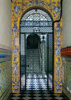 Doorway in Cadiz by Russell Fry
