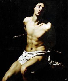 St.Sebastian. 1625. Nicolas Regnier. Flemish. 1590-1667. http://hadrian6.tumblr.com