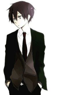 Kazuto Kirigaya aka Kirito, Sword Art Online. Lookin' sexy in a suit!!