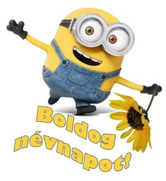 Happy Name Day, Happy Names, Birthday Wishes, Birthday Cards, Happy Birthday, Minions, Humor, Gifts, Character