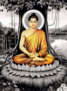 People give according to their faith or regard. If one becomes discontented with the food and drink given by others, one does not attain meditative absorption, either by day or by night. But he in whom this (discontent) is fully destroyed, uprooted and extinct, he attains absorption, both by day and by night - Dhammapada v.249-250