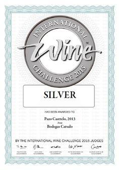 IWC 2015 - Albariño Pazo Castrelo #iwc #wine #albariño #riasbaixas
