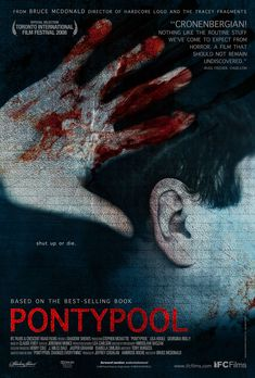Pontypool (2008)  A psychological thriller in which a deadly virus infects a small Ontario town - www.hardrockhorror.com