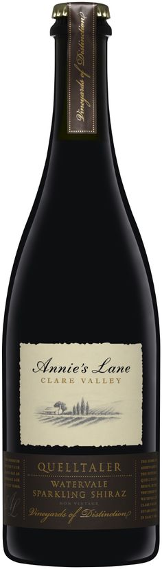 NVAnnie's Lane Quelltaler Watervale Sparkling ShirazLook out. This wine is set to storm the sparkling wine world. More than five years of age, deep and brooding yet polished and supple, it has an unmistakable artisan feel and should be twice the price.94$25Tyson Stelzer (WINE100 March 2012)