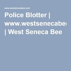 Police Blotter | www.westsenecabee.com | West Seneca Bee  Police responded to Wegmans for a report of a shoplifting. Following a chase, a person matching the description given was found by police and was taken into custody. Loss prevention told police the man had placed four 20-roll packs of Scott toilet paper, six four-packs and four 12-packs of Red Bull energy drink, 13 packs of soap and 20 packs of condoms, total value estimated at $545.26, into a shopping cart and passed all points of…