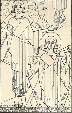 Jos Speybrouck Illustration From Het Leven van den Messias by Gustaf van Acker (Drukkerij-Uitgeverij Lannoo, Tielt: 1939)