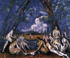Cezanne, Paul (1898)  As Grandes Banhistas - The Large Bathers