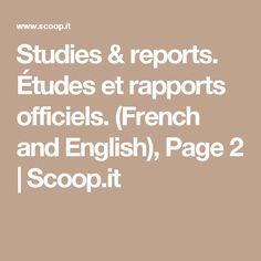 Études et rapports officiels. (French and English) Trauma, English, Math, French, French People, Math Resources, English Language, French Language, Early Math