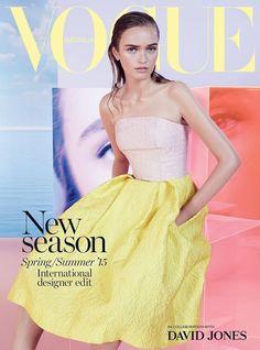Vogue Australia Spring 2015 Ella Jayne Baily - Supplement Cover