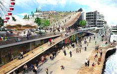 AECOM + BIGは垂直ファーム、ルーフガーデンでシカゴのネイビーピアを刷新する計画を発表  Inhabitat - グリーンデザイン、イノベーション、建築、グリーンビルディング