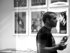 Shepard Fairey is one of my favorite artists.