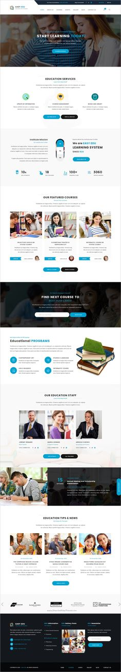 Easyedu is a wonderful premium #PSD template for multipurpose #educational #websites with 2 homepage layouts and 21 organized PSD pages download now➩ https://themeforest.net/item/easyedu-multiple-education-psd-template/19163212?ref=Datasata