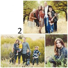 family of 4 picture poses | Family Brings Joy - Favorite Outdoor Family Portrait Poses