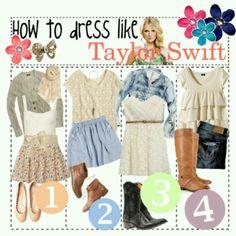 Dress like Taylor