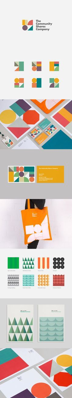 The Community Shares Company Branding and Identity Corporate Design, Corporate Branding, Brand Identity Design, Graphic Design Branding, Logo Branding, Logo Design, Restaurant Branding, Stationery Design, Brochure Design