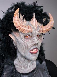 Beware the sith! Makeup by Jamie Leodones   #cms #cinema #makeup #school #monster #spfx #special fx #demon #star wars