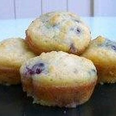 HCG Diet (P3) Coconut Flour Raspberry Muffins