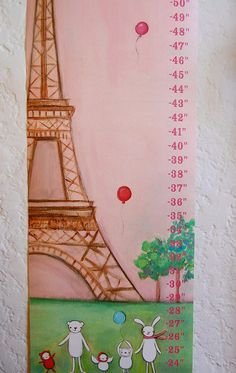 This Paris-inspired chart from Etsy is ideal for your petit bebe. It's cute, chic, and even customizable! $49