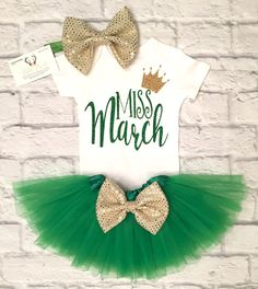 Baby Girl Clothes, Miss March Bodysuit, Miss March Shirts, Miss March, Girls March Birthday Shirts, Miss March Tops - BellaPiccoli