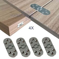 Furniture Hinges, Cabinet Furniture, Table Furniture, Flip Top Table, Door Table, Pallet Furniture Designs, Table Extensible, Folding Doors, Metal Folding Table