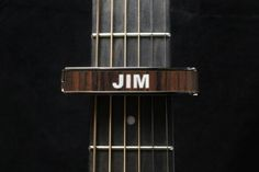 Black Chrome Finish with Indian Rosewood Inlay