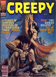 Creepy Magazine cover