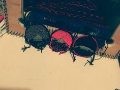 Trabajo en arpillera