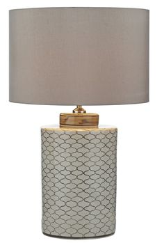 Dar Paxton Table Lamp Cream Brown Base Only Table Lamps Uk, Table Lamp Base, Lamp Bases, Dar Lighting, Light Up, Barrel, New Homes, Shades, Living Room