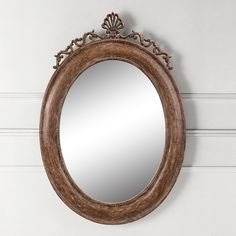 Provincial Oval Wall Mirror