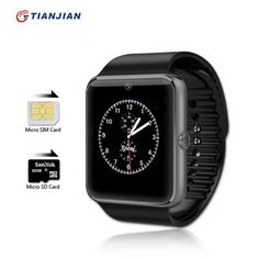 Smartwatch GT08 Bluetooth Electronics Phone Camera Smart Watch Android Health MP3 Player Waterproof Watches SIM Card Sport Clock