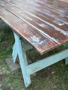 Door trestle table