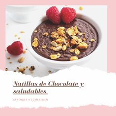 Postre saludable muy facil Cereal, Oatmeal, Breakfast, Food, Eating Well, Eat Healthy, Custard, Health Desserts, Diets