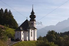 Pilgrimage church of Maria Gern in Berchtesgaden Berchtesgadener Land Upper Bavaria Bavaria Germany Europe
