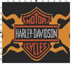 Kendra's Crocheted Creations: Harley graph