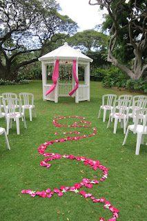 Design Vertigo. tropical wedding