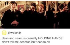 Deamus, Dean Thomas, Seamus finnigan, Harry Potter, hp