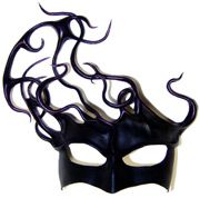 Leather Masks - Masks are perfect for Mardi Gras, Carnival of Venice, Masquerade Balls and Century Venetian costumes! Our leather art masks are handmade by Pacific Northwest artists including Morgan and faceOdd! Venetian Costumes, Venetian Masquerade Masks, Halloween Masquerade, Masquerade Costumes, Masquerade Ball, Carnival Of Venice, Carnival Masks, Mask Cream, Coque Feathers