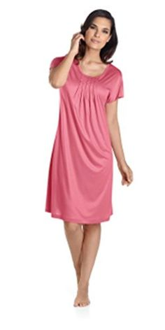 6897f9f71e Hanro Sleepwear Womens Easy Lover Short Sleeve Night Gown Small White     You can get