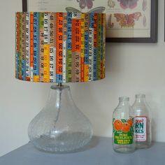 Retro inspired lampenkappen