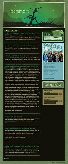 Design Museum, Paramore, Web Design, History, Design Web, Historia, Website Designs, Site Design