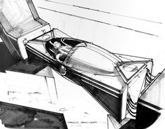 The Art Of Blade Runner : Original Matte Paintings and Sketches - Daily Art, Movie Art Blade Runner, Fiction Movies, Science Fiction, John Berkey, K Dick, Famous Artists Paintings, Syd Mead, Matte Painting, Amazing Art