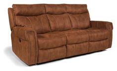 Flexsteel Furniture: Reclining Sofas: WyattPower Reclining Sofa (1450-62P)