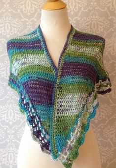 Crochet Summer Shawl
