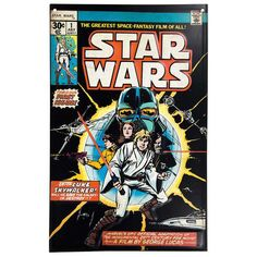 Get Star Wars Comic Book Cover #1 Tin Sign online or find other Wall Art products from HobbyLobby.com
