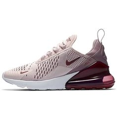 Nike Air Max 270 - Sneaker Damen - barely rose-vintage wine-elemental rose 373a7404e