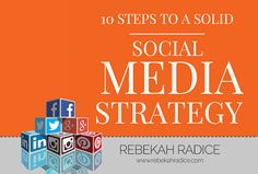 10 Steps to a Solid Social Media StraTEAgy via @Rebekah Radice