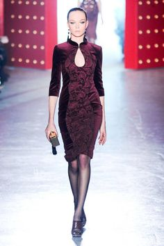 Top 2012 Trend #5: oxblood (Jason Wu)