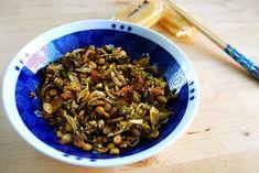 Recette Salade de thé vert Laphet