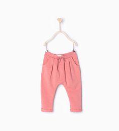 ZARA - ENFANTS - Pantalon avec détail cordon